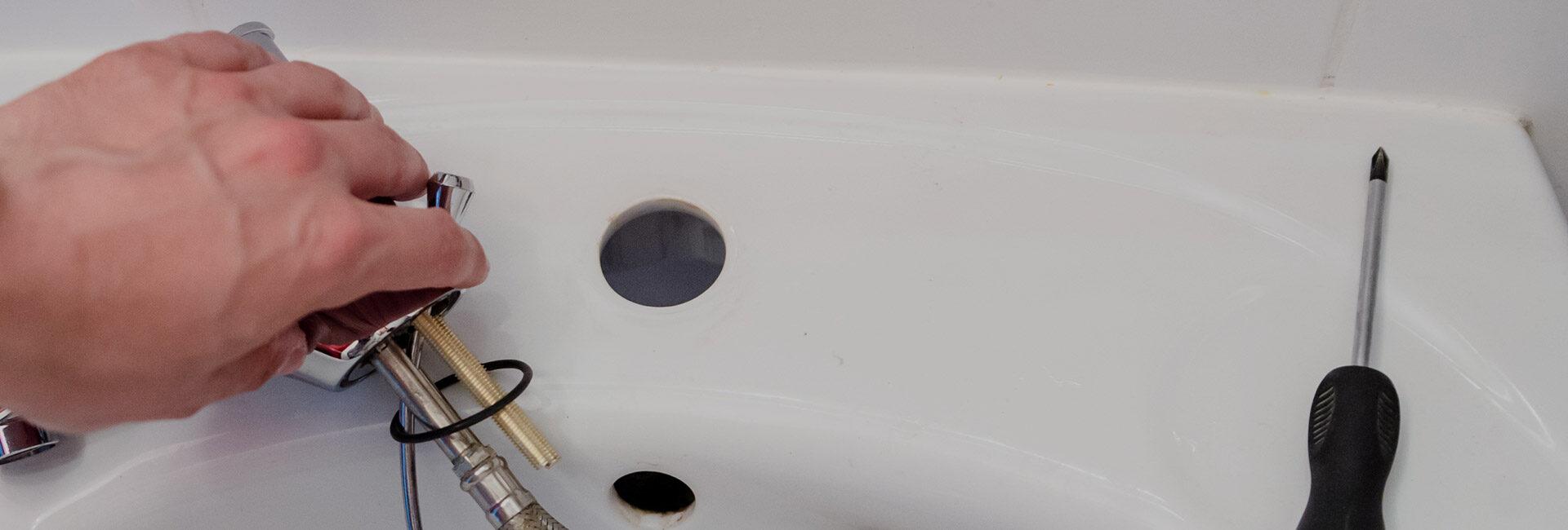 réparation en plomberie